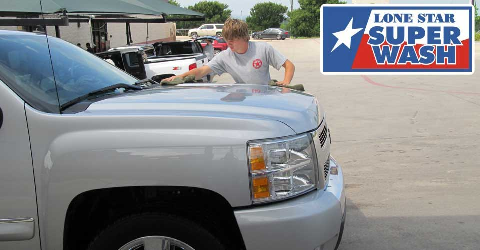 Lone Star Super Wash Hand Dry Service