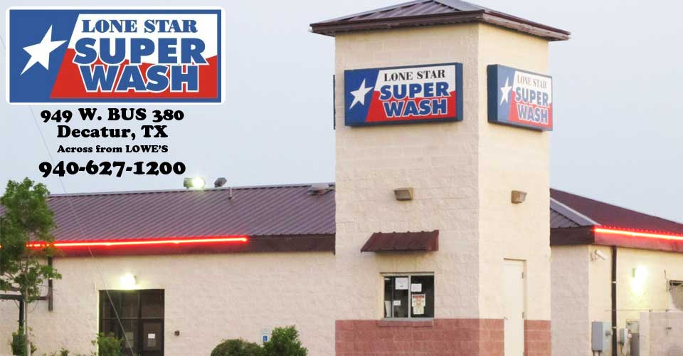 Lone Star Super Wash Business Location