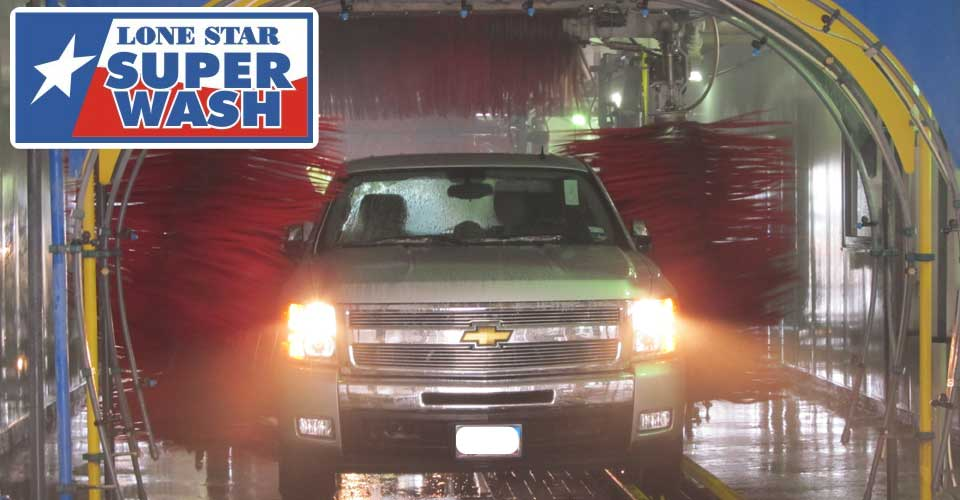 Lone Star Super Wash Automatic Car Wash Bay